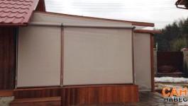 Пристройка веранды к деревянному дому из профиля «Конструктор веранды»