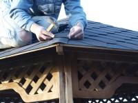 Пергола на даче своими руками
