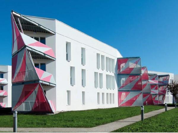 материал Serge Ferrari в отделки фасада
