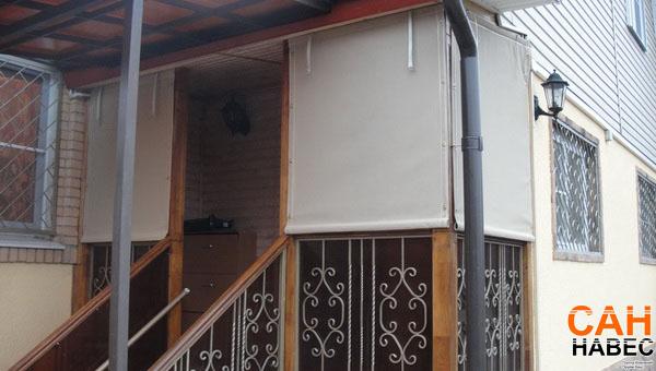 Уличные защитные шторы из Батилина
