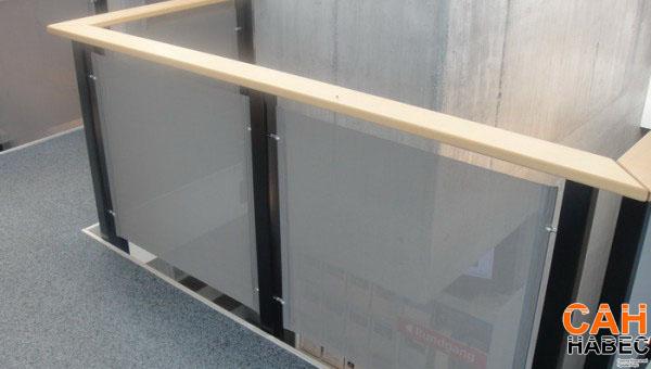 Перегородки, защитные экраны.