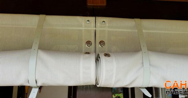 Верхнее крепление шторы