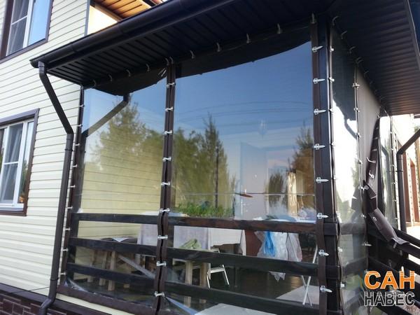 Прозрачные шторы ПВХ - 2