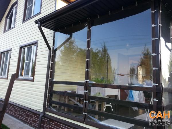 Прозрачные шторы ПВХ - 3