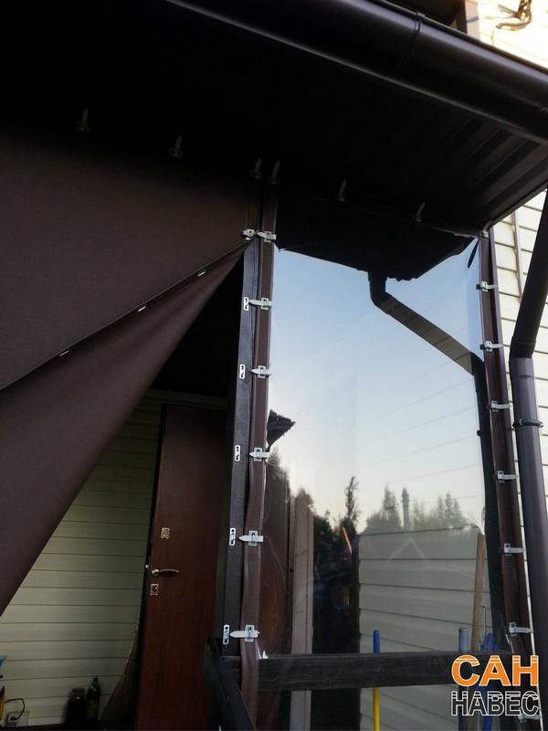 Прозрачные шторы ПВХ - 4