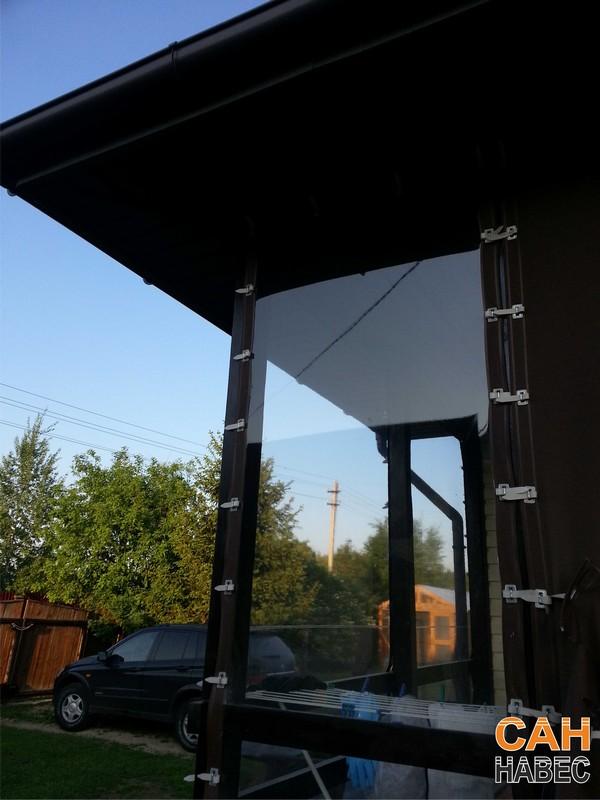 Прозрачные шторы ПВХ - 5