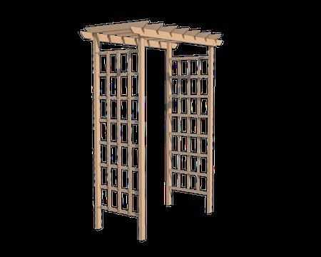 Виды арочных конструкций.