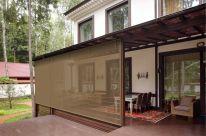 Мягкие окна и ЗАЩИТНЫЕ УЛИЧНЫЕ ШТОРЫ для веранд