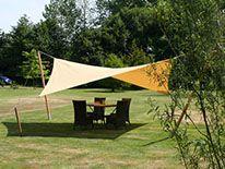 Текстильные навесы от солнца